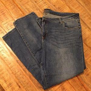 Kut from the Kloth Jeans Boyfriend Cut 22W